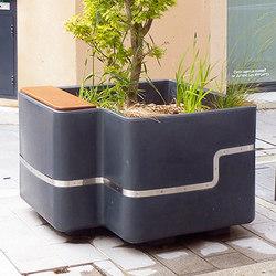 Imawa planter | Pflanzkästen / -kübel | Concept Urbain