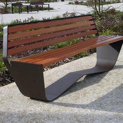 Karma bench | Exterior benches | Concept Urbain