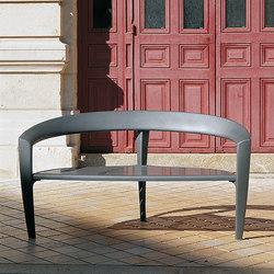 Nastra metal bench | Außenbänke | Concept Urbain