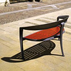 Nastra wooden bench | Panche da esterno | Concept Urbain