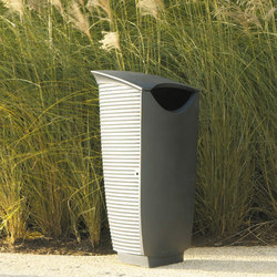 Nastra litter bin | Exterior bins | Concept Urbain