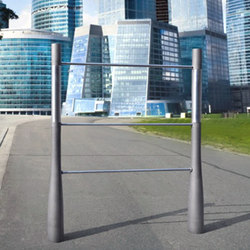 Or'a barrier stainless steel | Geländer | Concept Urbain