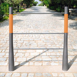 Or'a barrier terracotta | Railings | Concept Urbain