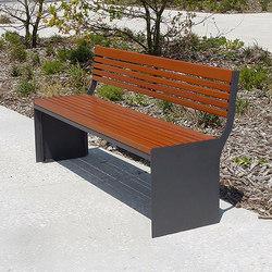Soha bench | Außenbänke | Concept Urbain