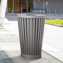 Soha litter bin | Exterior bins | Concept Urbain