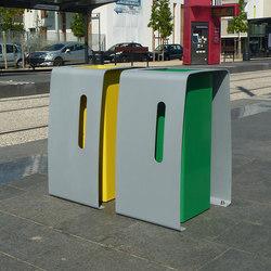 Vélopark module corbeille | Corbeilles | Concept Urbain