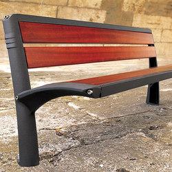 Vesta wooden bench | Sitzbänke | Concept Urbain