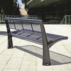 Vesta mesh bench | Exterior benches | Concept Urbain