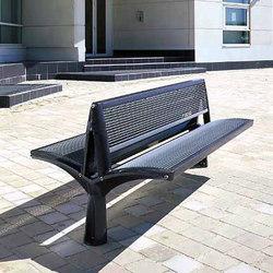 Vesta double mesh bench | Bancos de exterior | Concept Urbain
