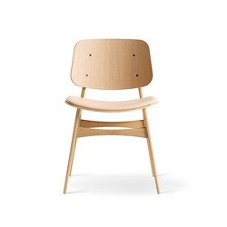 Søborg Wood Base - seat upholstered | Sillas | Fredericia Furniture