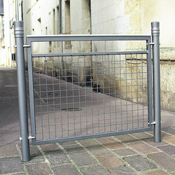Vesta barrier V3 trellised | Railings | Concept Urbain