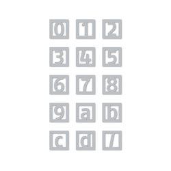 Pictrograms | señaletica tipografia | Números | Didheya