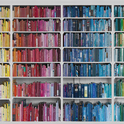 Communication | Library- Colourful knowledge | Bespoke wall coverings | Mr Perswall