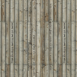Communication | Natural Message - Words on wood | Rivestimenti su misura | Mr Perswall