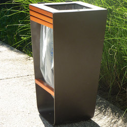 Karma litter bin bag holder | Exterior bins | Concept Urbain