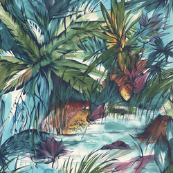 Expressions | Tropical Colours | Bespoke wall coverings | Mr Perswall