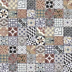 Expressions | Pattern Tiles | Bespoke wall coverings | Mr Perswall