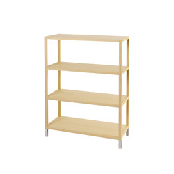 Oscar Shelf | Office shelving systems | Neue Wiener Werkstätte