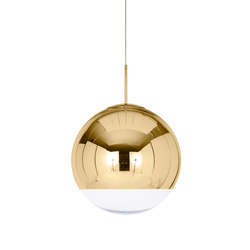 Mirror Ball Pendant Gold 50cm | General lighting | Tom Dixon