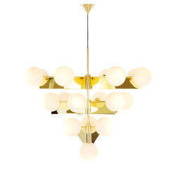 Plane Chandelier | General lighting | Tom Dixon