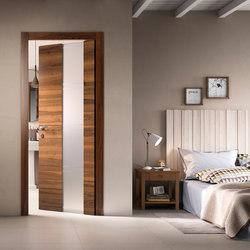 Intaglio /10 vetro | Internal doors | FerreroLegno