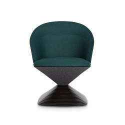 Pivot Low Back Green | Sedie visitatori | Tom Dixon