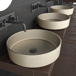 Rho Metal | Wash basins | Glass Design