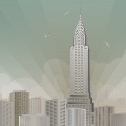 Nostalgic | Art deco Skyline | Sur mesure | Mr Perswall