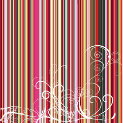 Urban Nature | Rainbow stripes | Sur mesure | Mr Perswall