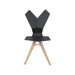 Y Chair wood 4-legs base | Sedie ristorante | Tom Dixon