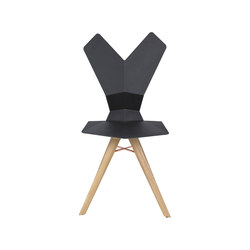 Y Chair wood 4-legs base | Sillas para restaurantes | Tom Dixon