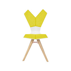 Y Chair wood 4-legs base | Restaurantstühle | Tom Dixon