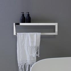 porta asciugamani bagno legno
