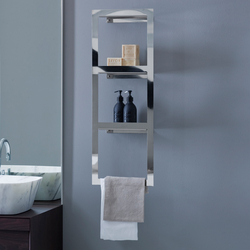 Kiri Shelves with towel rack | Estanterías toallas | Arlex Italia
