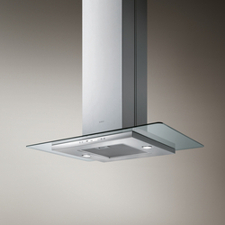 FLAT GLASS PLUS island | Kitchen hoods | Elica