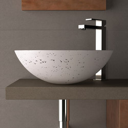 Travertino Circus 43 | Wash basins | Glass Design