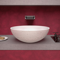 Travertino Oval | Wash basins | Glass Design