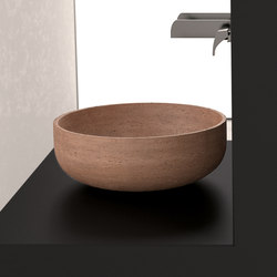 Travertino Rapolano 35 | Wash basins | Glass Design