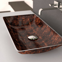 Nek | Wash basins | Glass Design