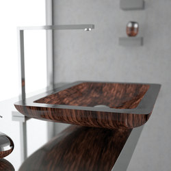 Vogue | Wash basins | Glass Design