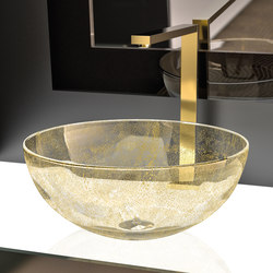 Laguna Oro | Wash basins | Glass Design