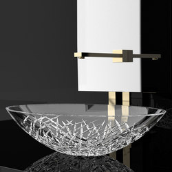 Ice Oval | Wash basins | Glass Design