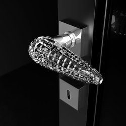 Luxor | Lever handles | Glass Design