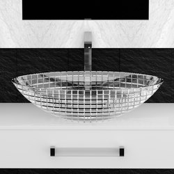 Luxor Oval | Wash basins | Glass Design