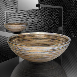 Graffiti | Wash basins | Glass Design