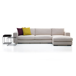 Composit | 3-seater sofa | Modular seating systems | Mussi Italy