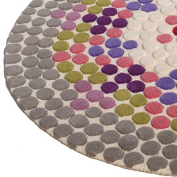 Bubbles Multi | Rugs | Nuzrat Carpet Emporium