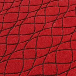 Strange Red | Tappeti / Tappeti d'autore | Nuzrat Carpet Emporium