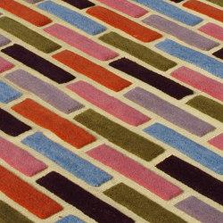 Bricks | Tappeti / Tappeti d'autore | Nuzrat Carpet Emporium