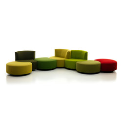 Sedutalonga  | modular elements | Seating islands | Mussi Italy
